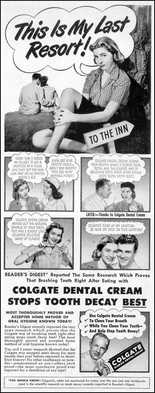 COLGATE DENTAL CREAM LIFE 07/30/1951 p. 31
