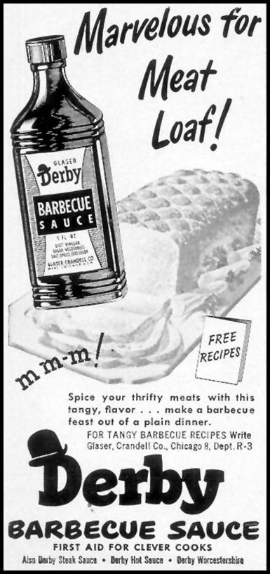 DERBY BARBECUE SAUCE WOMAN'S DAY 03/01/1948 p. 10