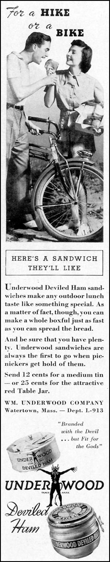 UNDERWOOD DEVILED HAM LIFE 09/13/1937 p. 9