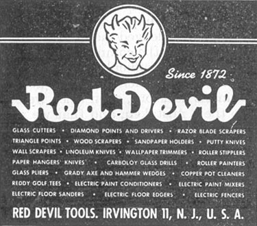 RED DEVIL TOOLS SATURDAY EVENING POST 10/06/1945 p. 107
