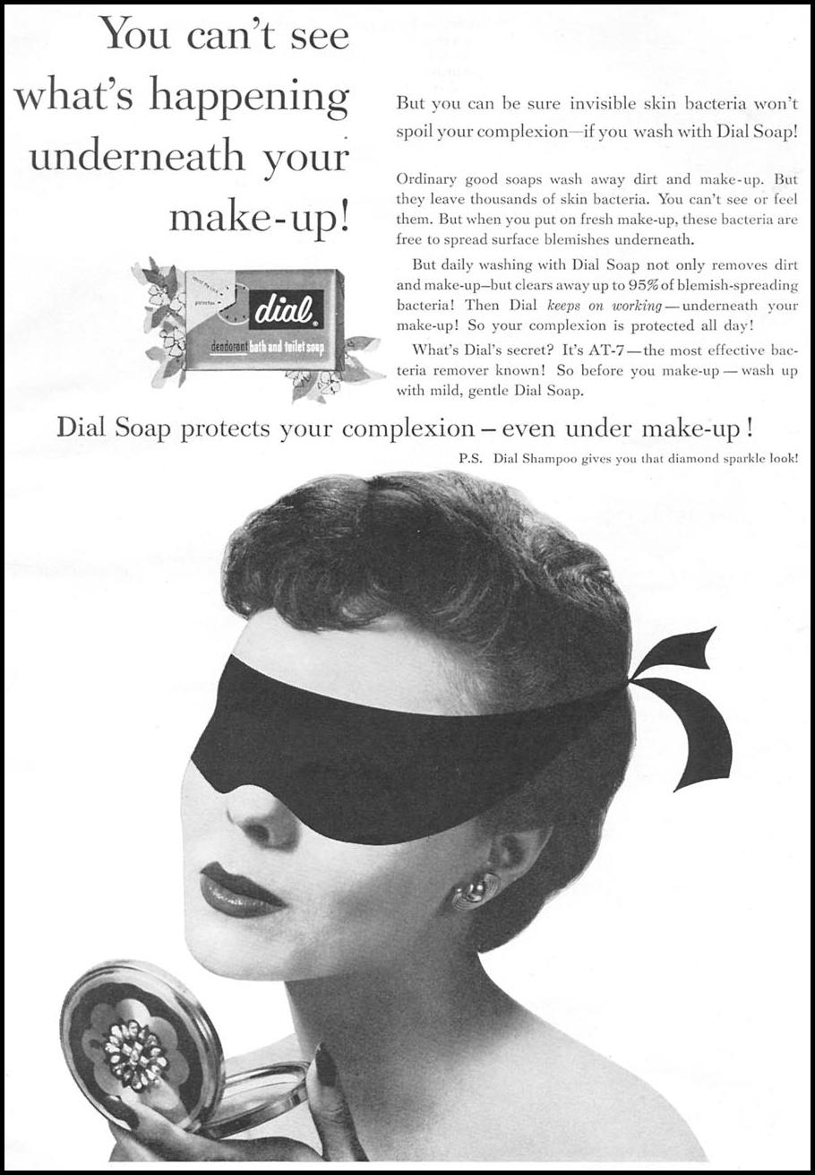 DIAL SOAP WOMAN'S DAY 04/01/1956 p. 95