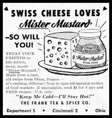 MISTER MUSTARD DIJON STYLE SATURDAY EVENING POST 07/23/1955 p. 78