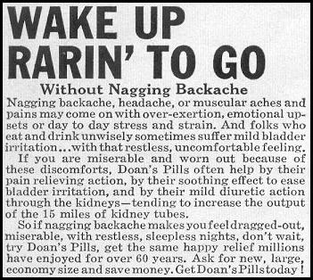 DOAN'S PILLS LOOK 09/16/1958 p. 55