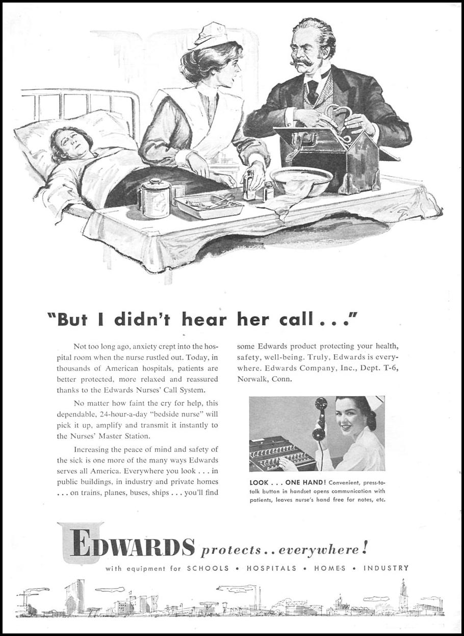 EDWARDS NURSES' CALL SYSTEM TIME 06/08/1953 p. 14