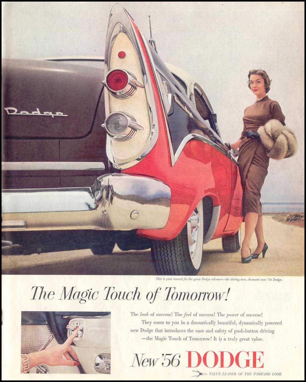DODGE AUTOMOBILES LIFE 10/29/1955 p. 111