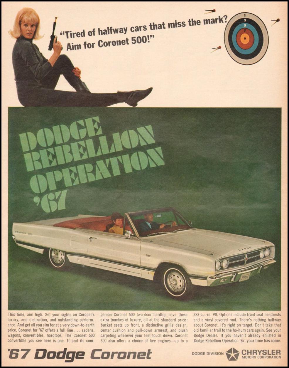 DODGE AUTOMOBILES LIFE 11/04/1966