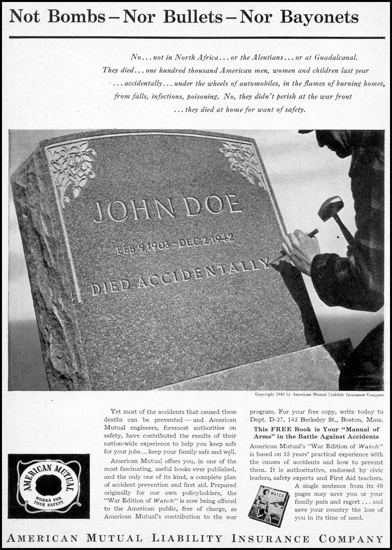 LIFE INSURANCE TIME 12/28/1942 p. 8
