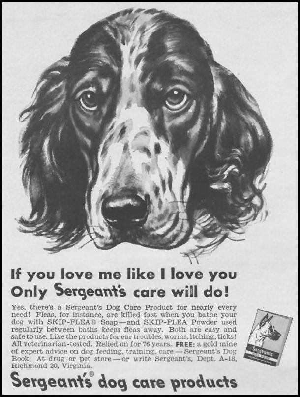 SERGEANT'S DOG CARE PRODUCTS LIFE 07/02/1951 p. 106