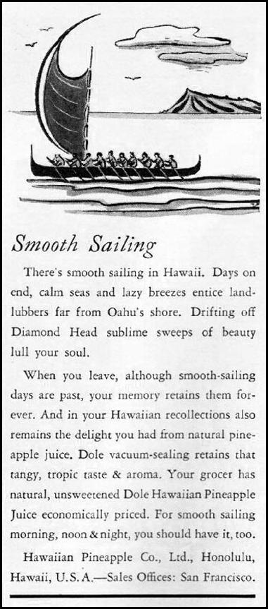 DOLE PINEAPPLE BETTER HOMES AND GARDENS 05/01/1936 p. 114