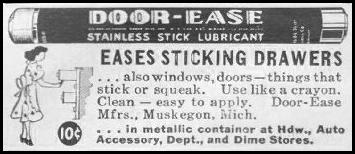 DOOR-EASE STAINLESS STICK LUBRICANT LIFE 06/22/1942 p. 82