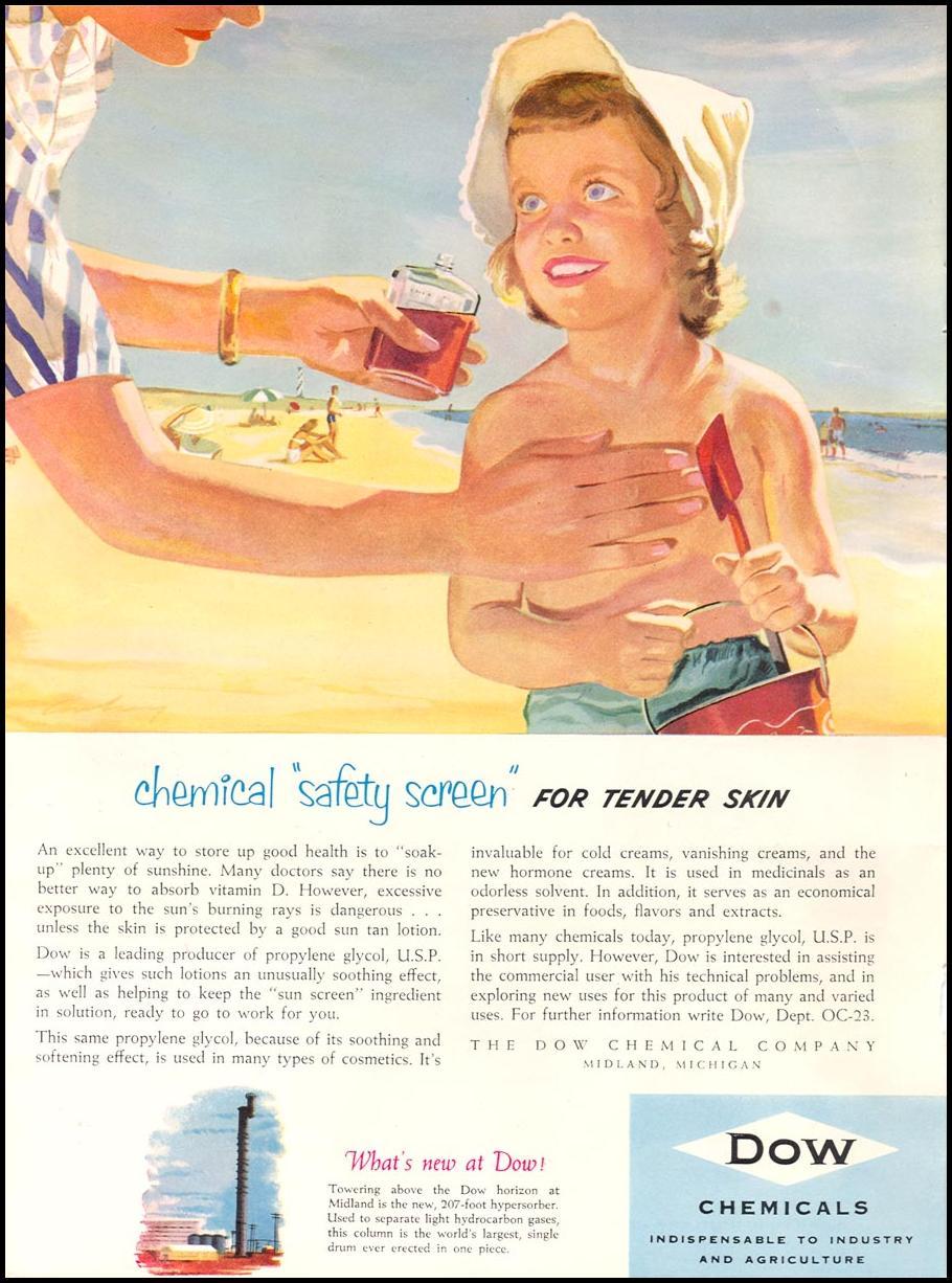 PROPYLENE GLYCOL NEWSWEEK 08/20/1951 p. 58