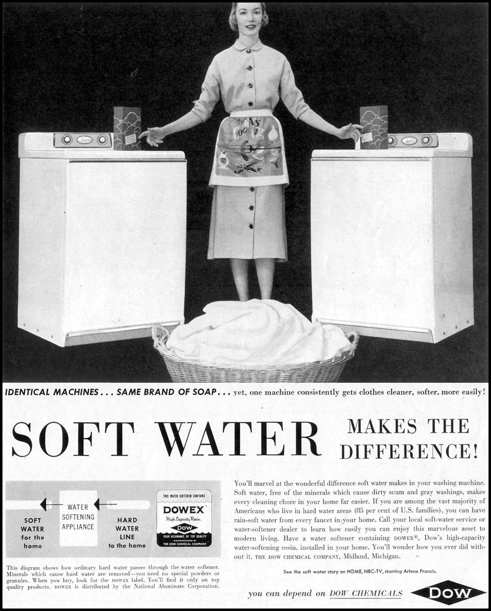 DOW CHEMICALS SATURDAY EVENING POST 04/09/1955 p. 81