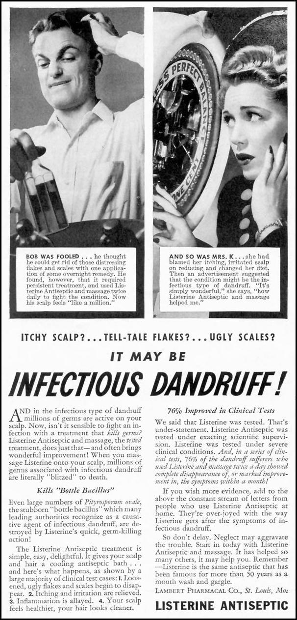 LISTERINE ANTISEPTIC TIME 06/15/1942 p. 6