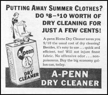 A-PENN DRY CLEANER