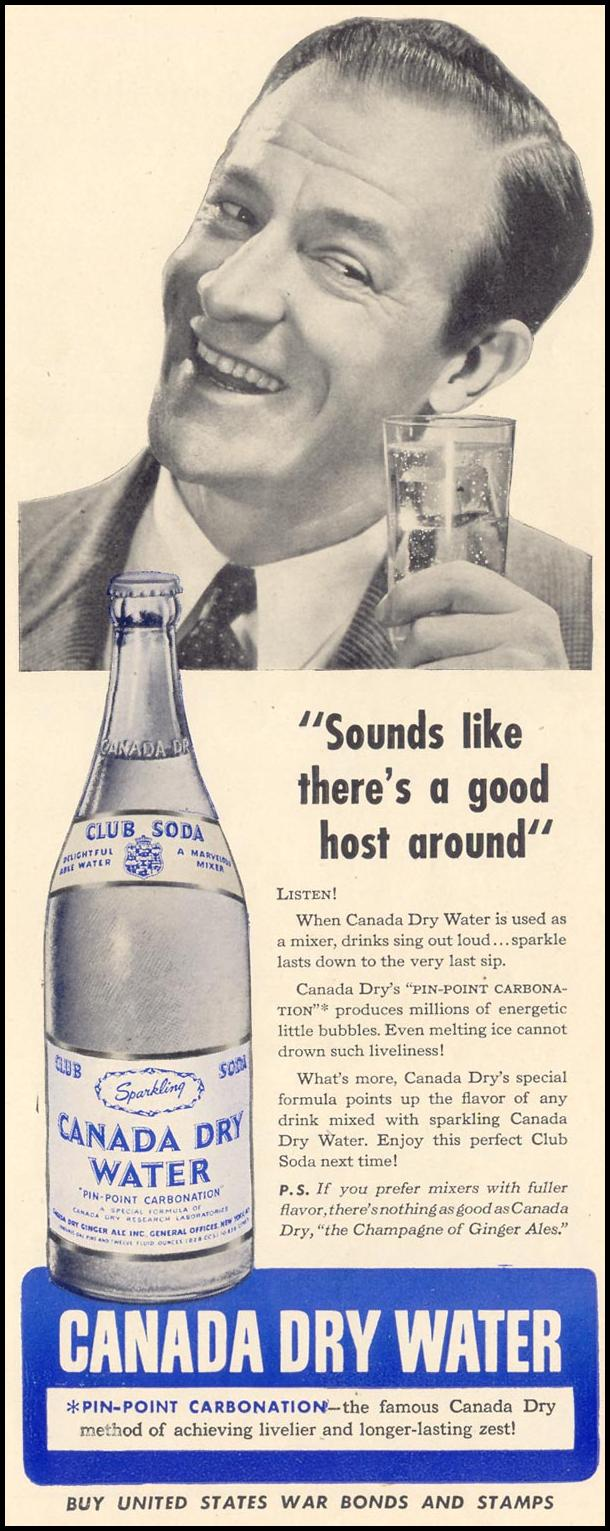 CANADA DRY WATER LIFE 02/21/1944 p. 121