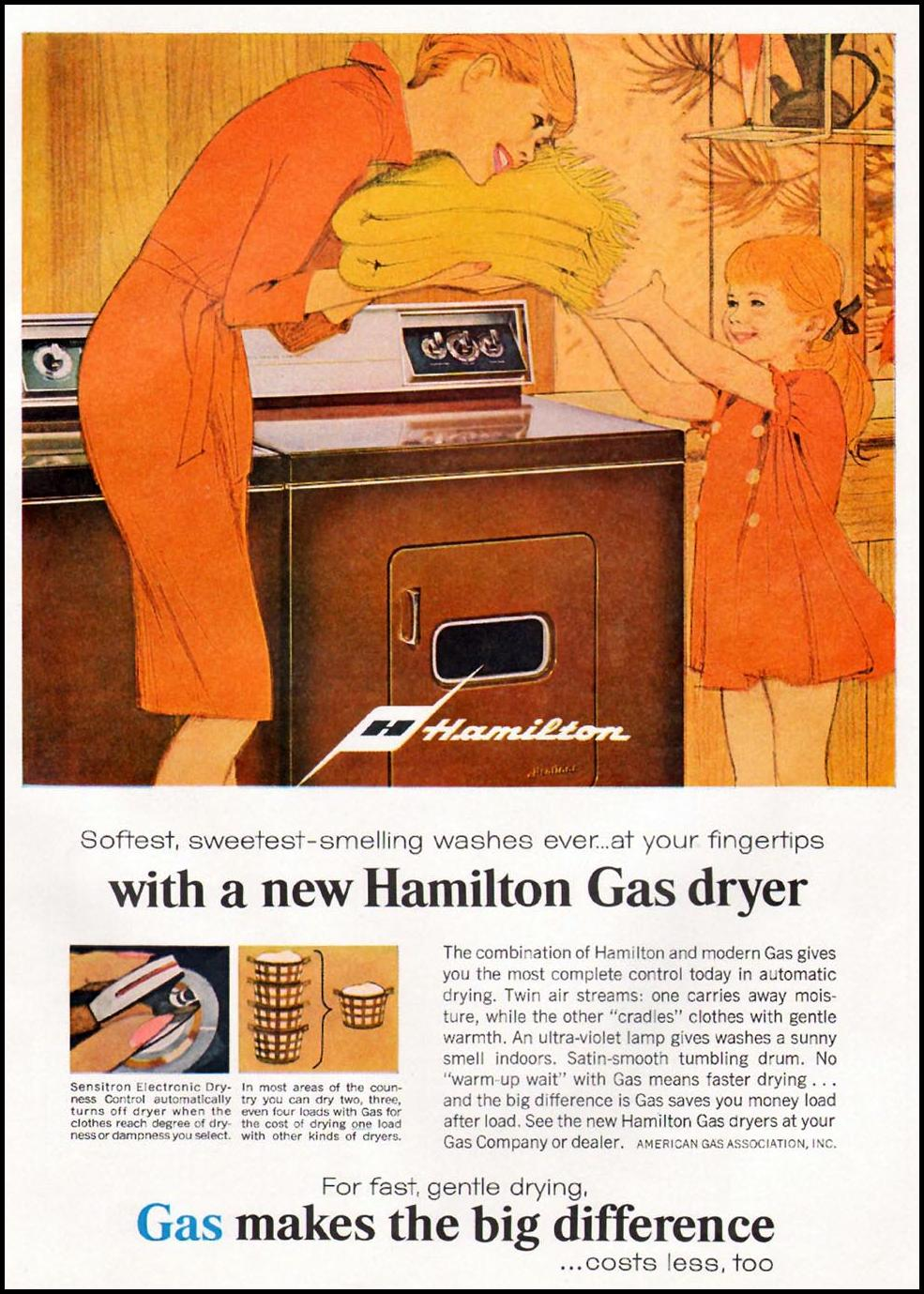NATURAL GAS GOOD HOUSEKEEPING 10/01/1965 p. 225