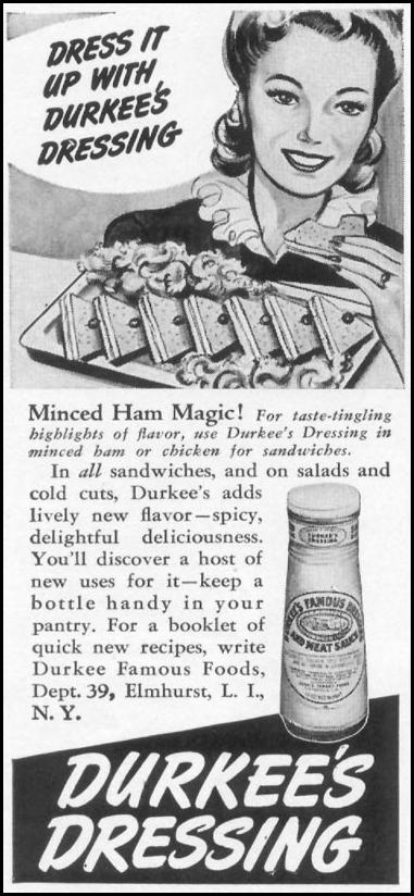 DURKEE'S DRESSING WOMAN'S DAY 09/01/1942 p. 50