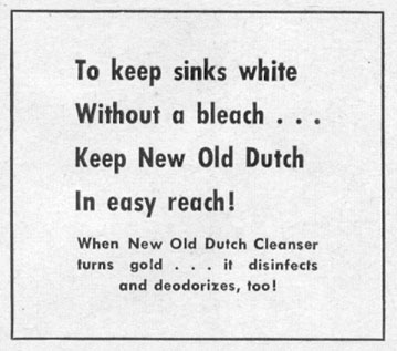 OLD DUTCH CLEANSER LIFE 07/12/1954 p. 40