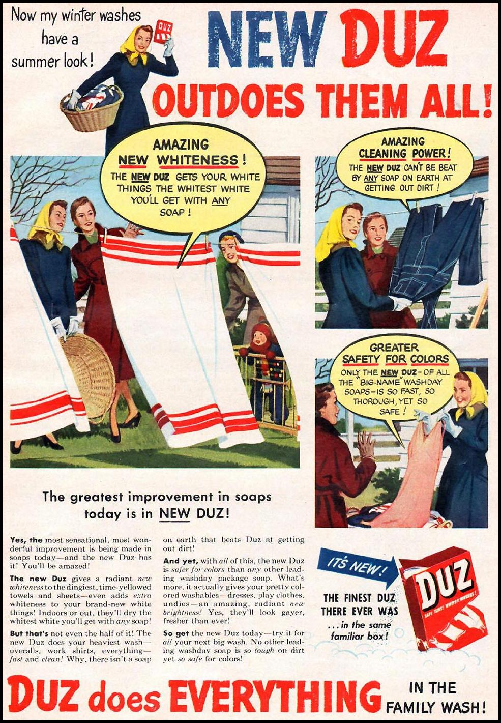 DUZ WOMAN'S DAY 01/01/1949 p. 9
