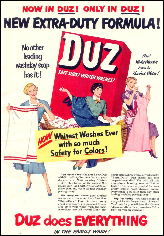 DUZ WOMAN'S DAY 02/01/1950 p. 71