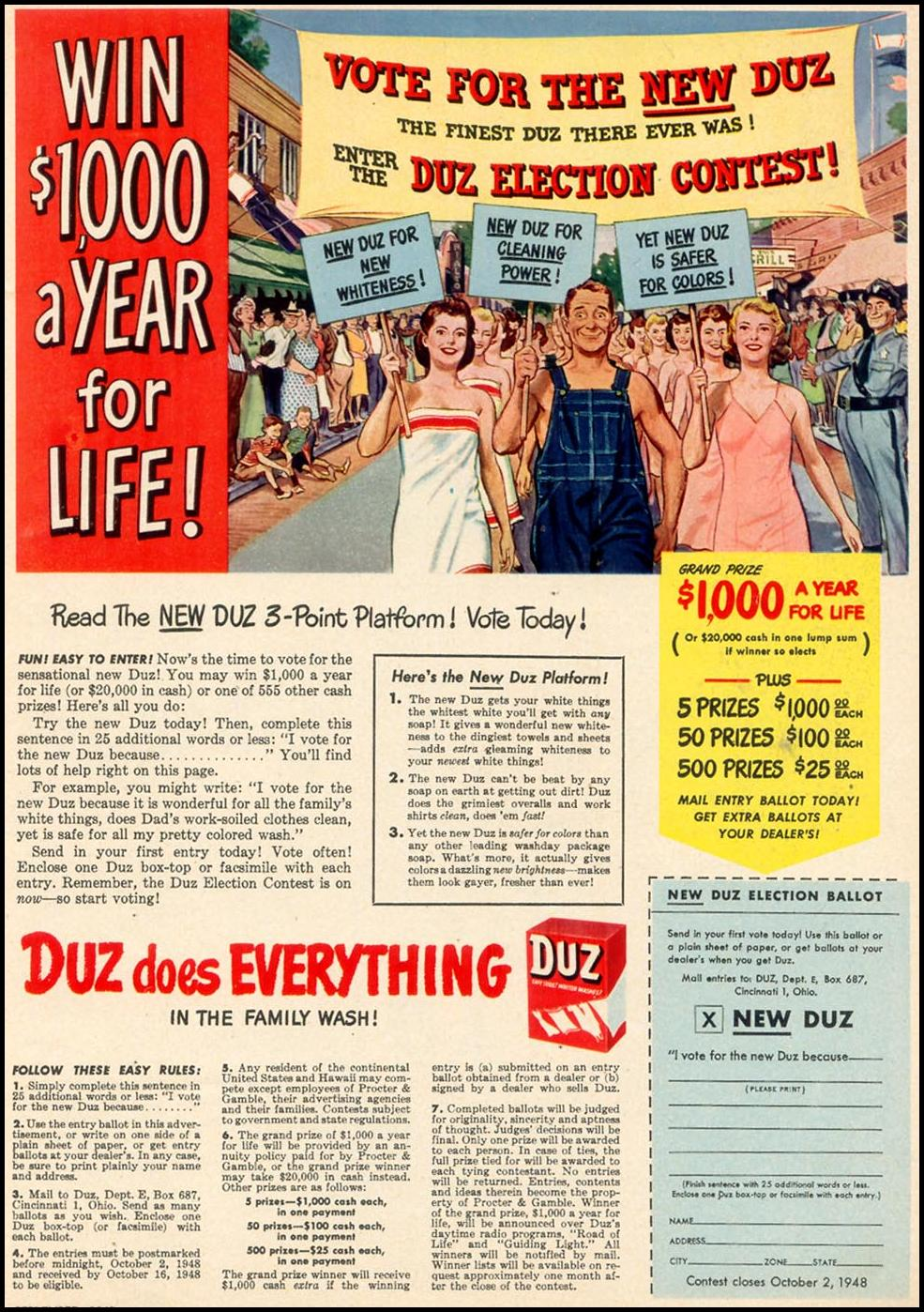 DUZ WOMAN'S DAY 09/01/1948 p. 17
