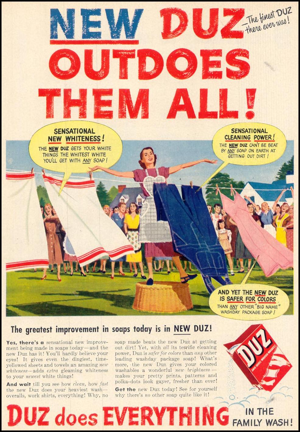 DUZ WOMAN'S DAY 11/01/1948 p. 25