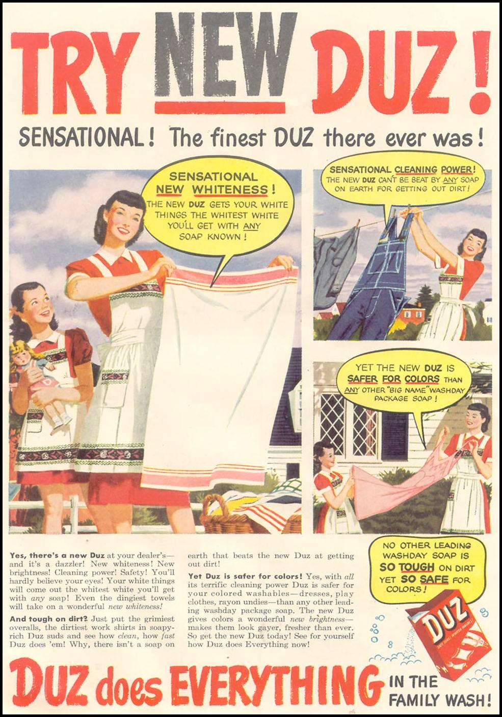 DUZ GOOD HOUSEKEEPING 07/01/1948