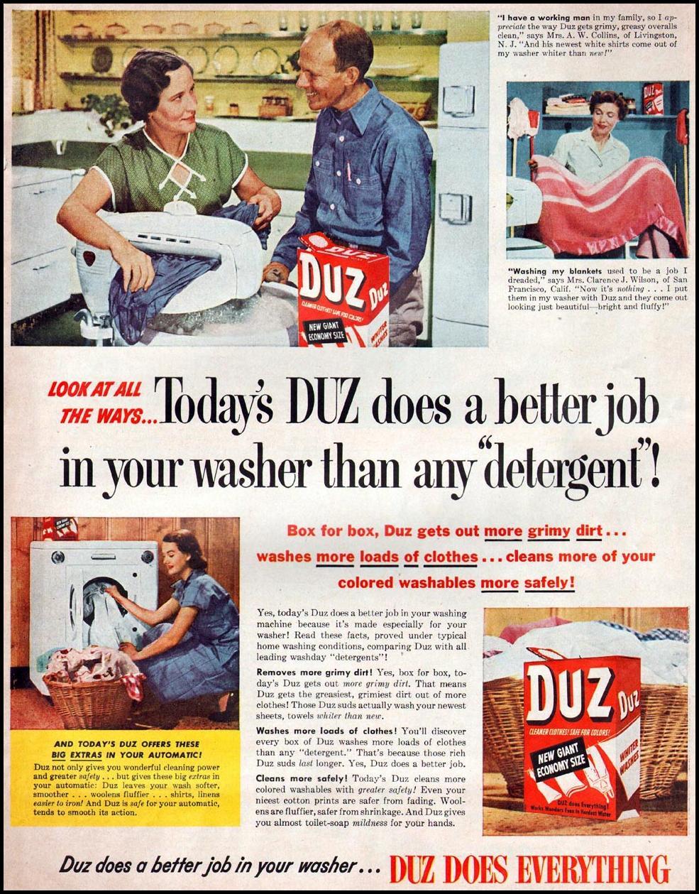 DUZ WOMAN'S HOME COMPANION 12/01/1952 p. 5