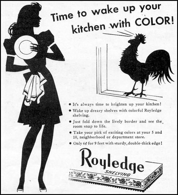 ROYLEDGE SHELVING WOMAN'S DAY 07/01/1945 p. 62