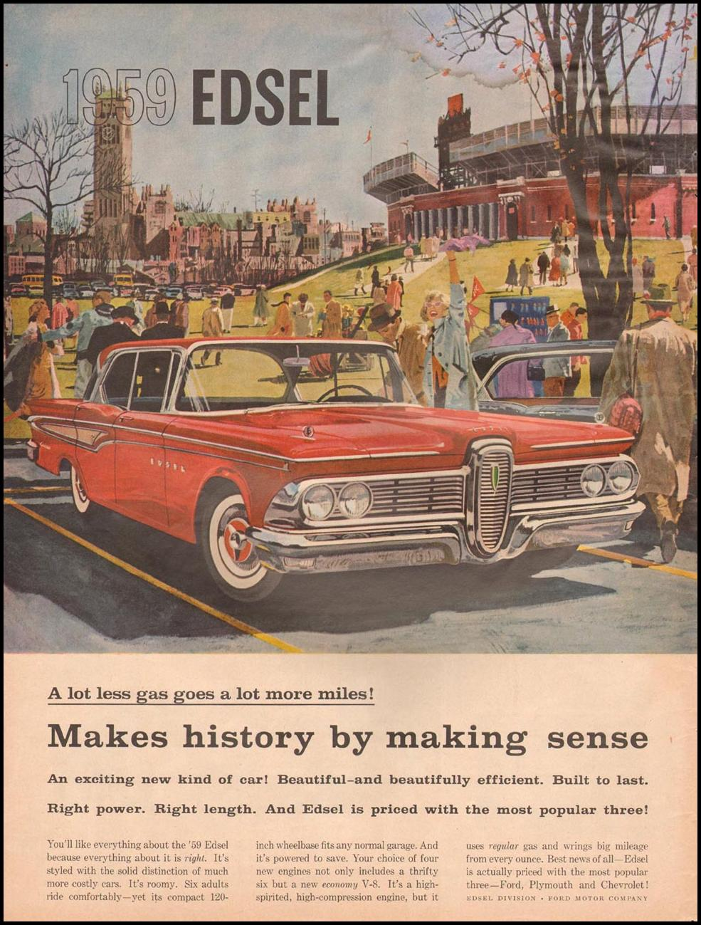 FORD AUTOMOBILES LIFE 11/24/1958