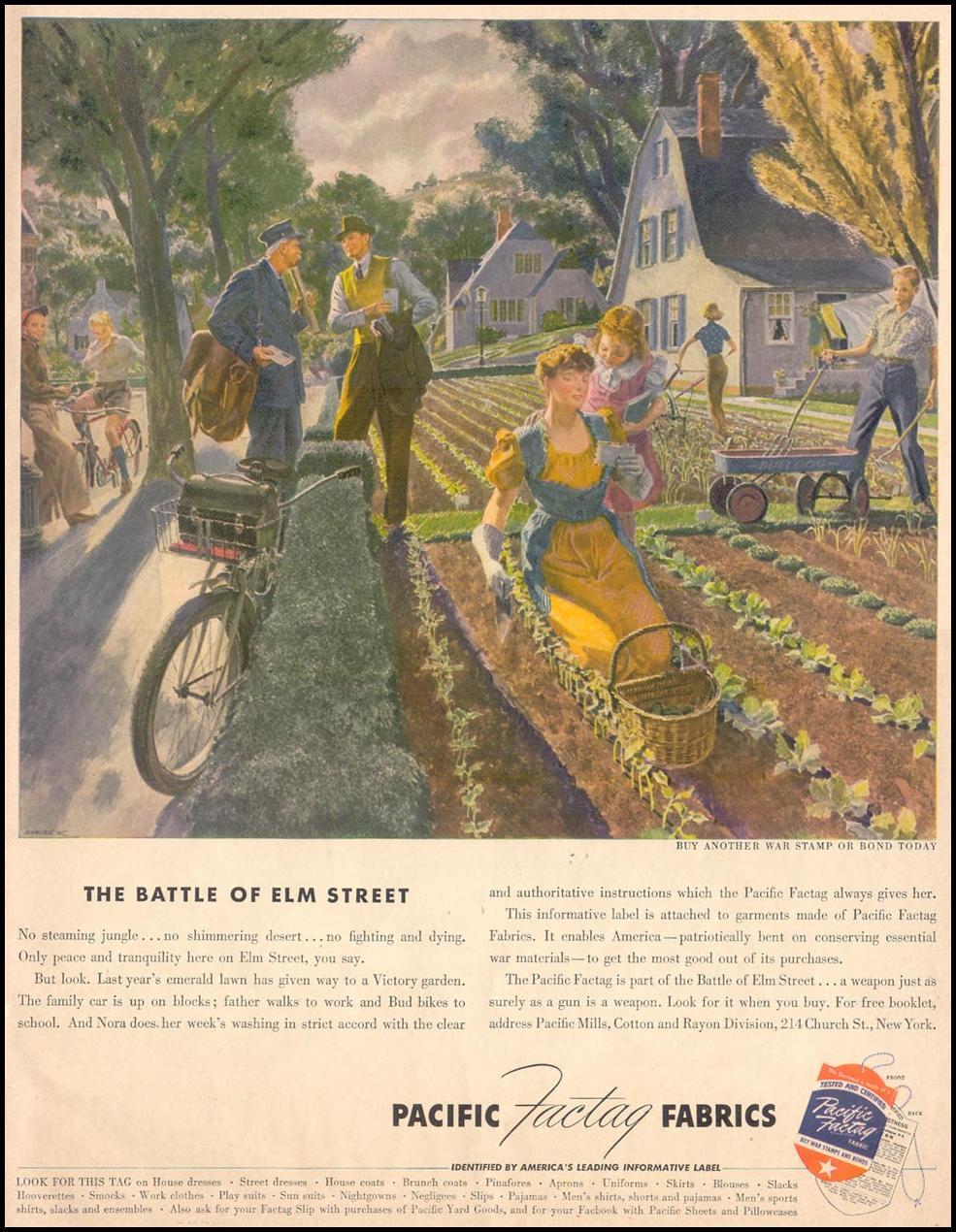 PACIFIC FACTAG FABRICS LIFE 05/24/1943
