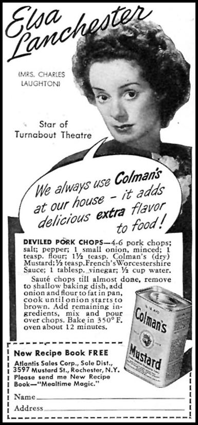 COLMAN'S MUSTARD WOMAN'S DAY 07/01/1945 p. 76