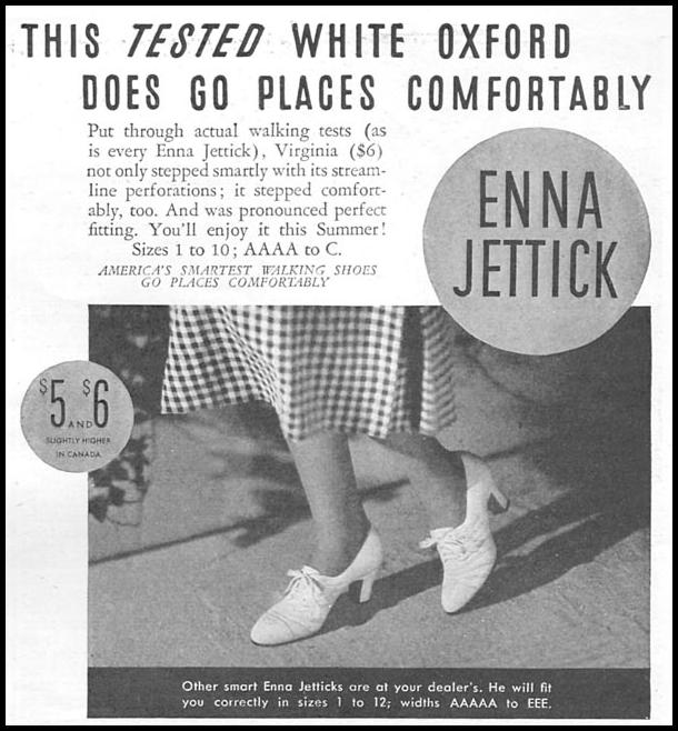 ENNA JETTICK SHOES GOOD HOUSEKEEPING 06/01/1935 p. 207
