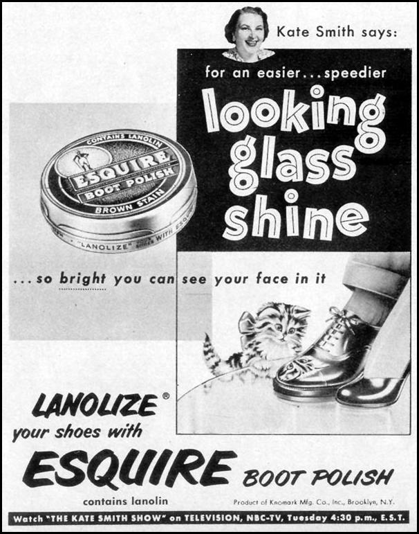 ESQUIRE BOOT POLISH LOOK 12/04/1951 p. 24