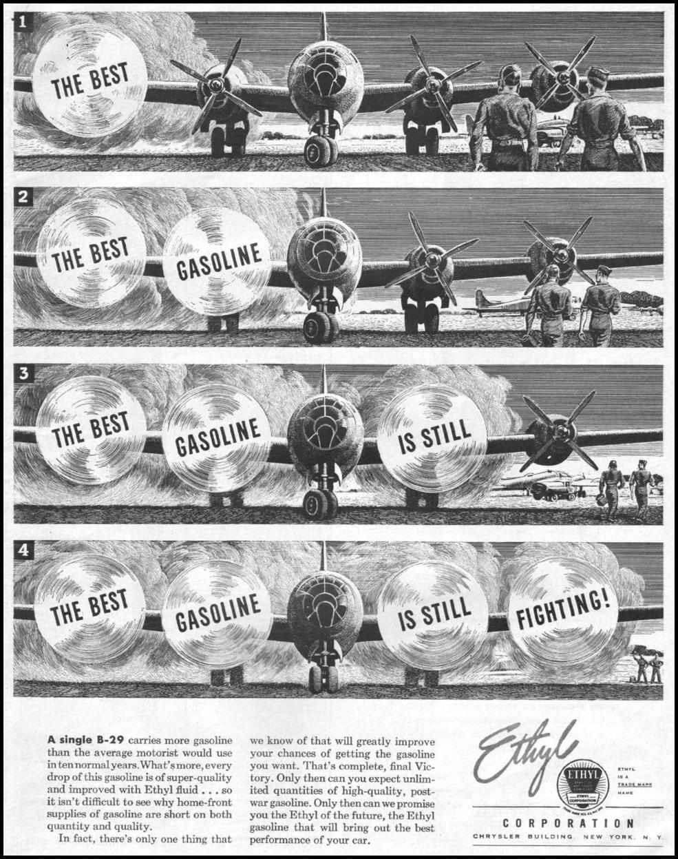 ETHYL GASOLINE LIFE 03/12/1945 p. 3