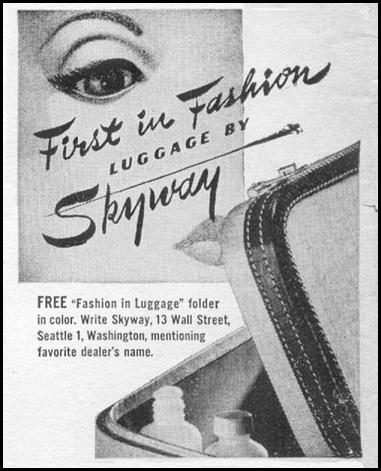 LUGGAGE BY SKYWAY LIFE 06/05/1950 p. 128