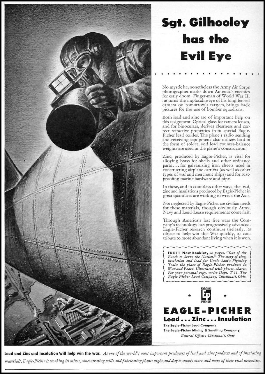 LEAD & ZINC MINING TIME 11/02/1942 p. 105