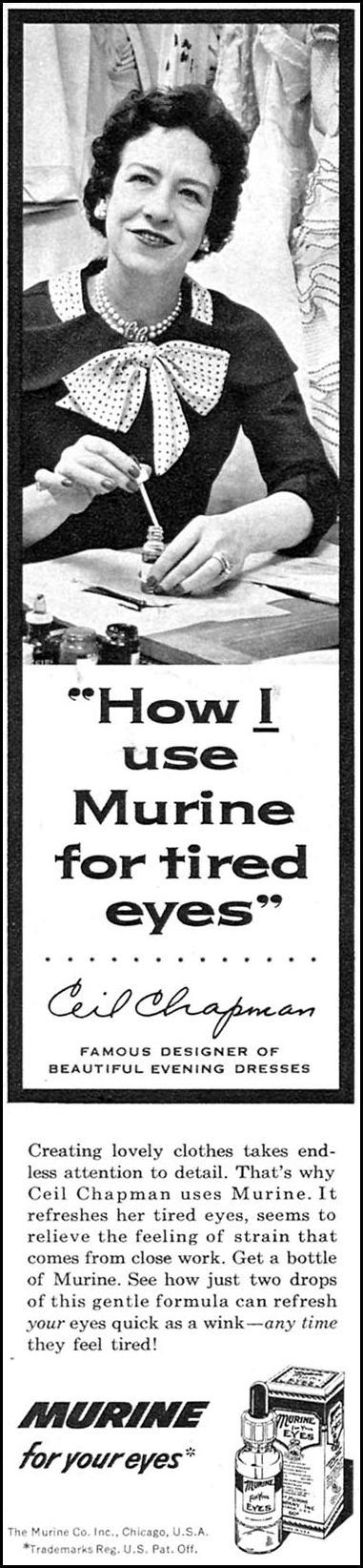 MURINE EYE DROPS FAMILY CIRCLE 02/01/1956 p. 18