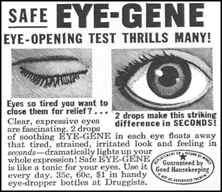 EYE-GENE WOMAN'S DAY 02/01/1954 p. 102