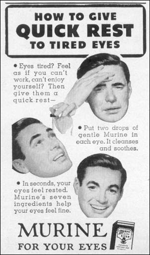 MURINE WOMAN'S DAY 10/01/1949 p. 144