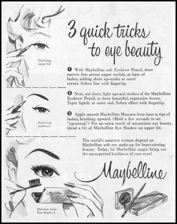 MAYBELLINE EYE MAKE-UP LIFE 07/12/1954 p. 108