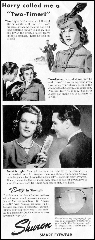 SHURON EYEWEAR LIFE 11/08/1943 p. 19
