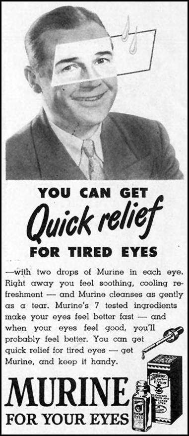 MURINE EYE WASH LOOK 12/04/1951 p. 12