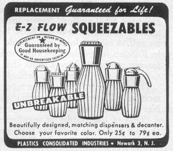 E-Z FLOW SQUEEZABLES LIFE 04/08/1957 p. 136