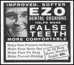 EZO DENTAL CUSHIONS LIFE 04/08/1957 p. 136