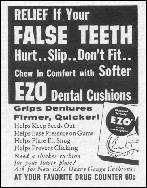 EZO DENTAL CUSIONS LIFE 12/14/1959 p. 129