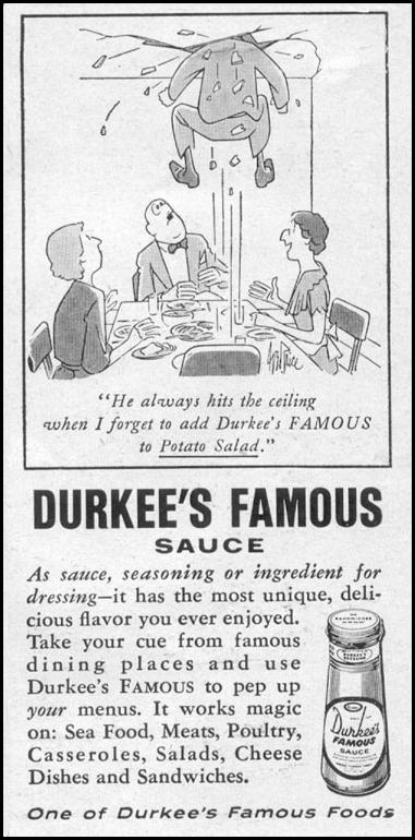 DURKEE'S FAMOUS SAUCE LIFE 07/12/1954