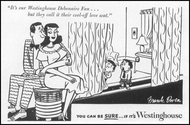 WESTINGHOUSE DEBONAIRE FAN LIFE 06/16/1952 p. 76
