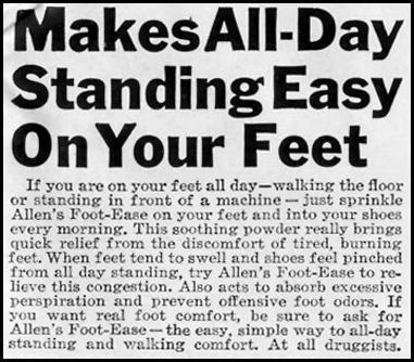 ALLEN'S FOOT-EASE LIFE 05/24/1943 p. 99