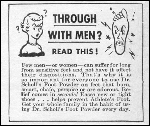 DR. SCHOLL'S FOOT POWDER LIFE 06/05/1950 p. 116